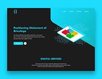 Logo & Landing Page Design | Bricolage
