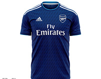 Concept Thrid Jersey Arsenal 2020-2021