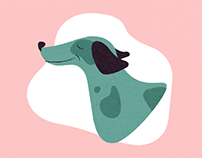 Dogs Illustrations Series