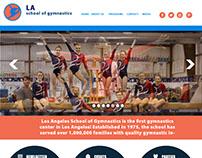 LA School of Gymnastics mockup