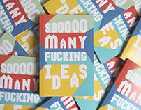 Sooooo Many Note Pad