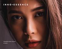 InnoEssence - Skincare Website