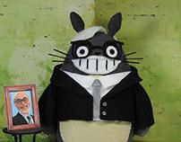 Totoro Miyazaki (Hayao Miyazaki's tribute)