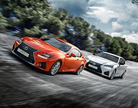 Lexus - RCF & GSF Race