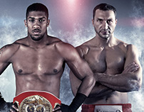 Anthony Joshua VS. Wladimir Klitschko - Promo designs