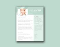 Free Sales Resume Template with Clean Design