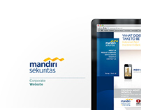 Mandiri Sekuritas Corporate Website