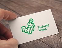 Logotipo Venta de Pollo Fresco
