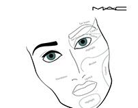 magazine ads for Mac cosmetics