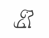LeDog - a cute Logo for a Pet Boutique