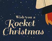 Wish you a Rocket Christmas