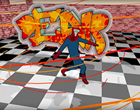 BBoy Super Hero 3D Recreation