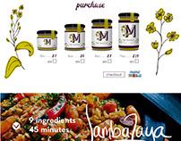 Martha's- Logo, packaging + web re-imagine