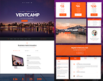 Ventcamp Event & Conference WP Template | REDESIGN 2016