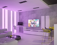 Design interior Hobby room - Inside Studio Timisoara