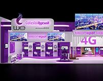 Telecom Egypt (WE) Booth ICT