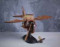Stork. Steampunk.