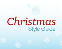 Visual Style Guide (Christmas- Holiday theme)