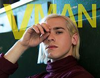 VMAN Mock Magazine