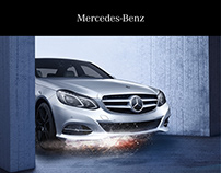 Mercedes-Benz E-Guard - Editorial Design