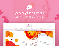 Panyizsuzsi glass jewelry Magento 2 webshop