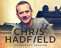 Chris Hadfield Autograph Session