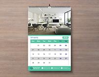 Wall Calendar - 2018