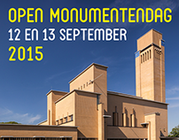 Open Monumentendag Hilversum 2015 - flyer en affiche