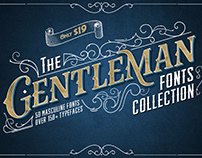 The Gentleman Fonts Collection
