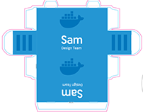 Docker Desk Name Tags
