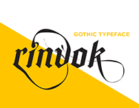 Rinvok - Contemporary Gothic Typeface
