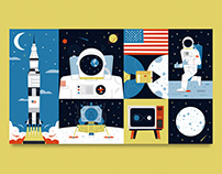 Moon Landing 50th Anniversary / Financial Times