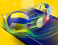Promotional Banner (Volleyball)