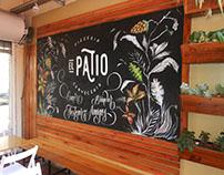 El Patio - Mural