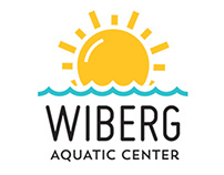 Wiberg Aquatic Center Logo + Branding