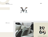 Mazzoli | Interior design website