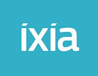 Ixia Brand Identity