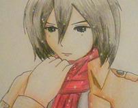 Mikasa [AOT] art