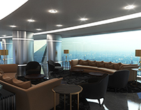 Lounge in office