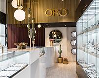 ORO jewelry store by Alena Bulataya