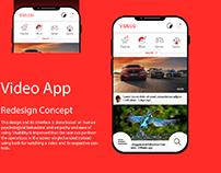 Youtube video app new look