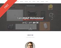 AvCard / Personal Resume / Vcard & Portfolio free HTML