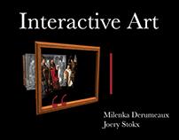 Interactive Art // Bachelorproef MSK