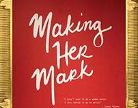 Making Her Mark exhibition catalog