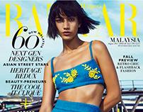 Harper's Bazaar Malaysia by Rachell Smith