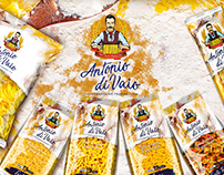 Antonio diVaio Logo & Packaging Design for Pasta