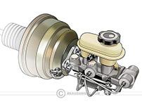 Stock automotive parts. portfolio 1