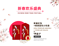 Chinese New Year Festival 2019 EDM design