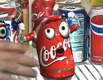 Coocoo Cola vs Popsi (aka Coke vs Pepsi) TV Ad