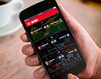 Sport - Soccer app